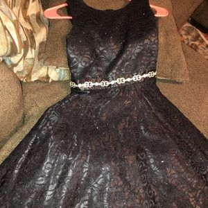 Junior Laced Dress